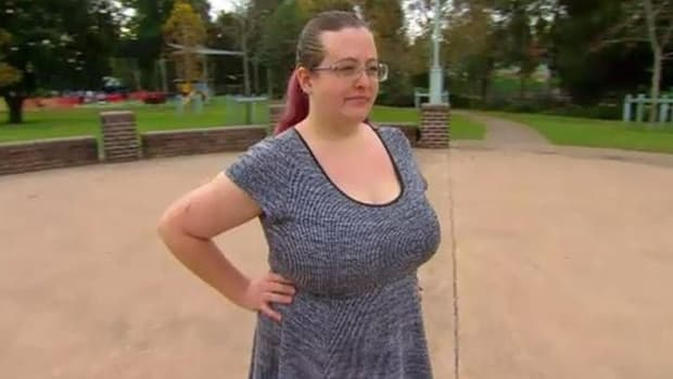 Breasts Too Big To Work?  This Woman Says So Promo Image