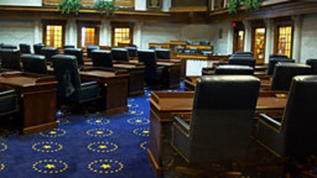 Indiana State Senate Chamber