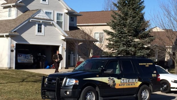 Home of shooting in Kentwood, Michigan