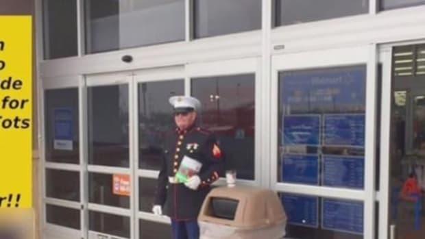 Walmart's Shocking Treatment Of Marine Sparks Outrage (Photo) Promo Image