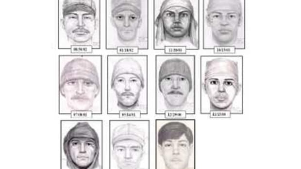 composite sketches of teardrop rapist