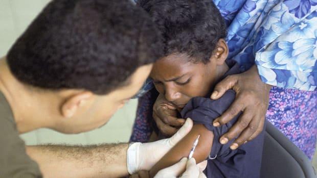 Boy Vaccination