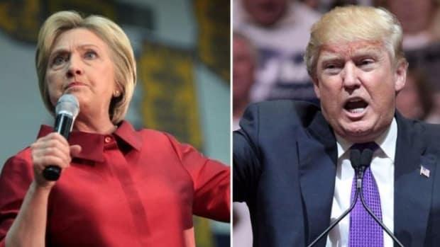 Clinton, Trump Square Off On Assault Rifles Promo Image