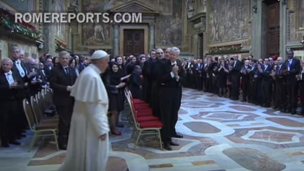 Pope Francis speaks on Jan. 26 2016