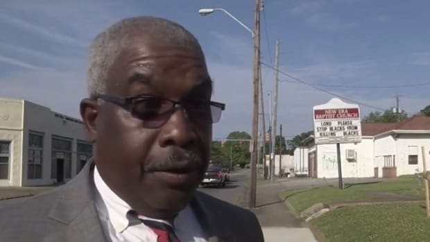 Reverend Posts Black-On-Black Crime Sign (Video) Promo Image