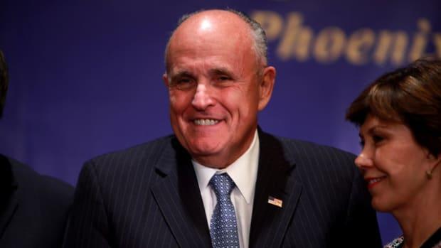 Trump May Appoint Rudy Giuliani To Head Muslim Ban Promo Image