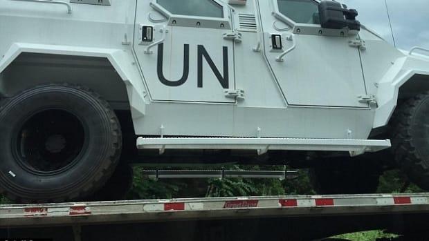 Are These Military UN Trucks In Virginia? Promo Image