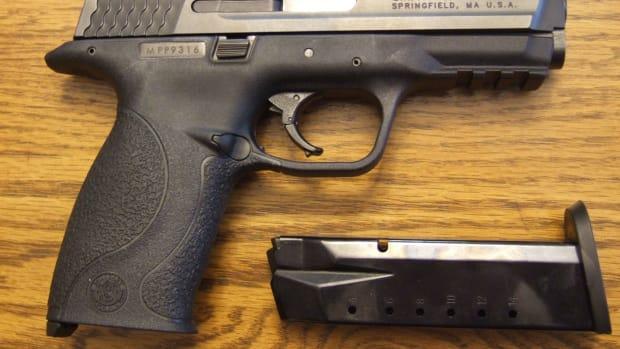 Smith & Wesson M&P Handgun.