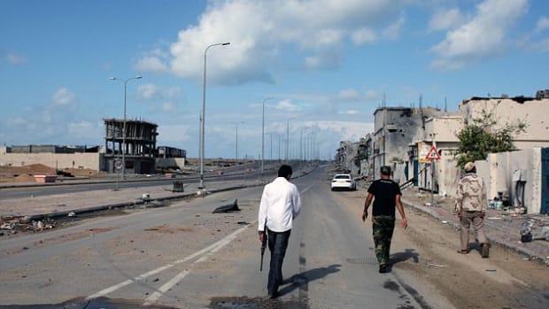 The Libyan city of Sirte