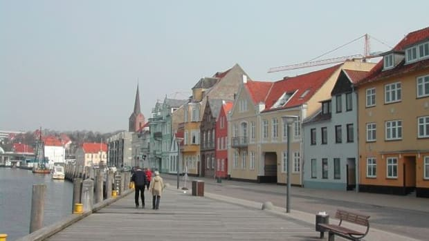 Streets of Sonderborg, Denmark