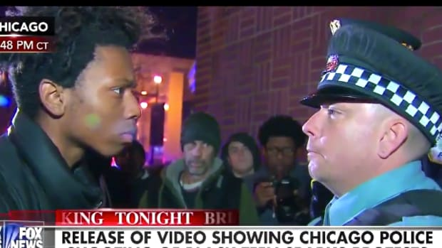 Chicago Protester Cop