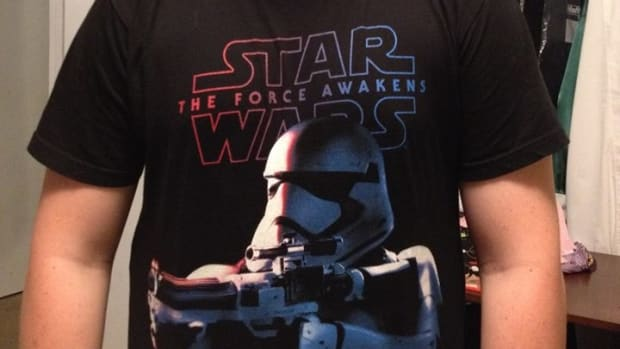 Colton Southern wearing Star Wars T-Shirt