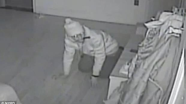 Burglar on Nanny Cam.