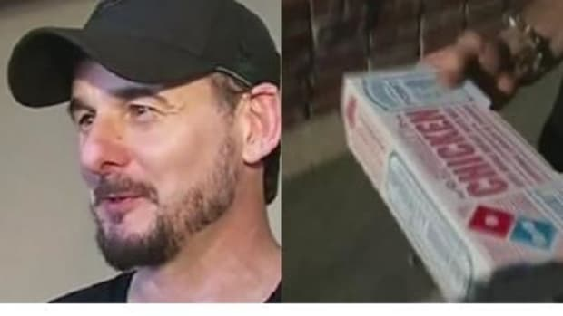 Man Finds Unexpected Surprise In His Domino's Pizza Order Promo Image