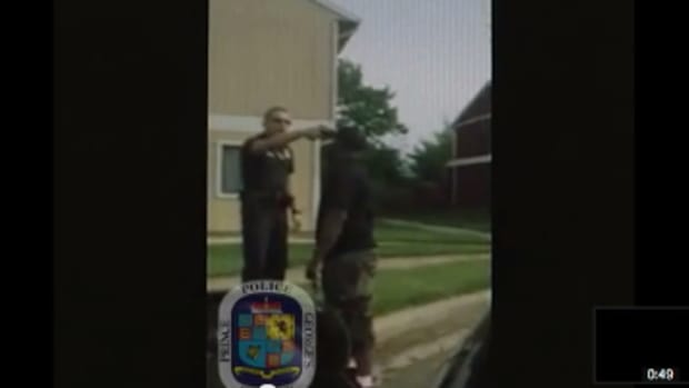 Video Of Officer Jenchesky Santiago.
