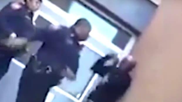 Baltimore School Cop Kicks, Hits Young Man (Video) Promo Image