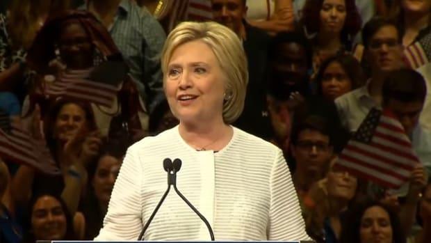 Highlights: Hillary Clinton's Victory Speech (Video) Promo Image
