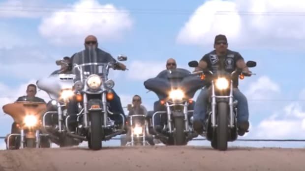 The Punishers Law Enforcement Motorcycle Club.