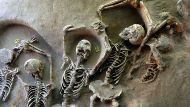 Ancient Remains Found In Mass Graves In Greece (Photos) Promo Image
