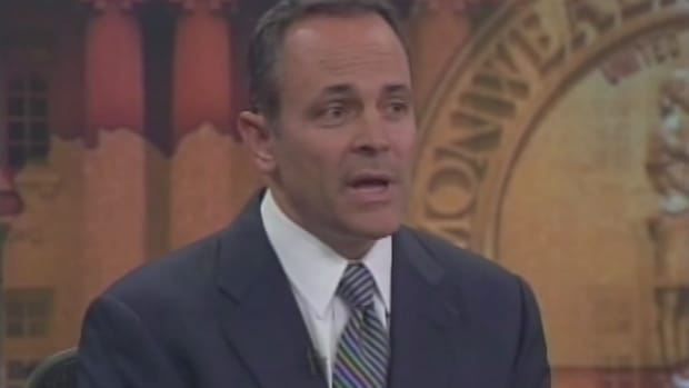 newly elected Kentucky governor Matt Bevin