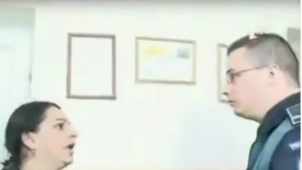 Woman Slaps Policeman, He Responds Accordingly (Video) Promo Image