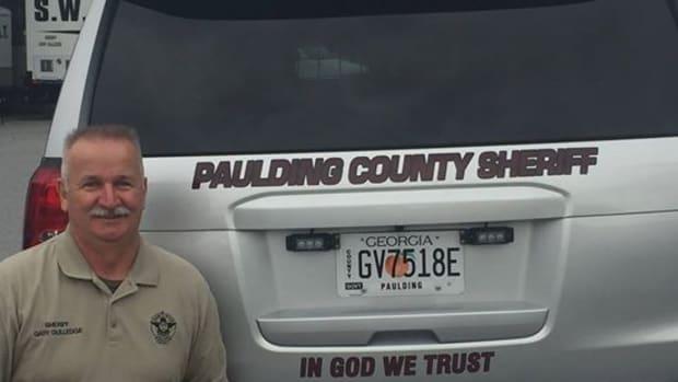 Gary Gulledge, sheriff of Paulding County
