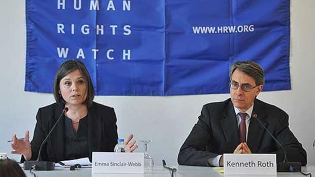 Human Rights Watch Criticized Turkey's Record