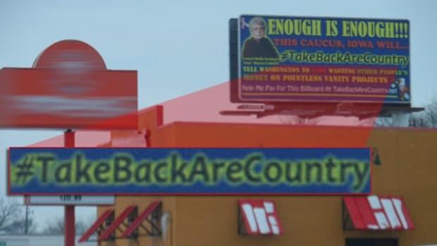 A Misspelled Iowa Billboard