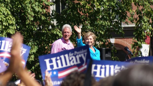 bill and hillary clinton in 2007