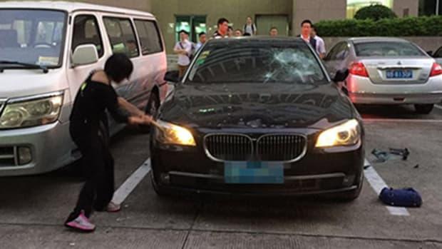 Wu smashing BMW