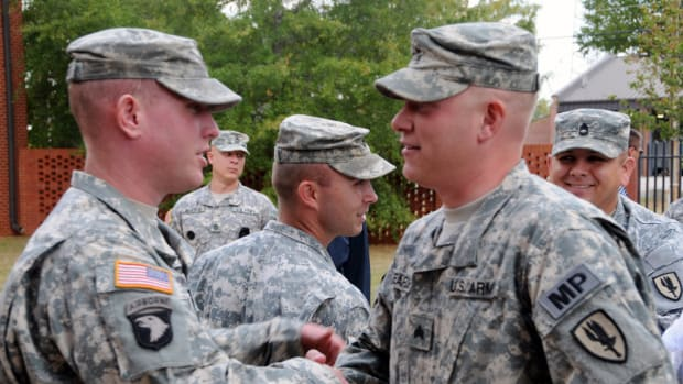 Army Specialist's Post Goes Viral (Photos) Promo Image