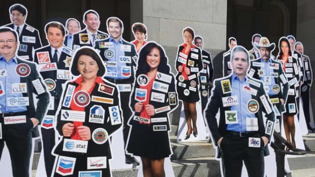 California Legislators With Donor Logos