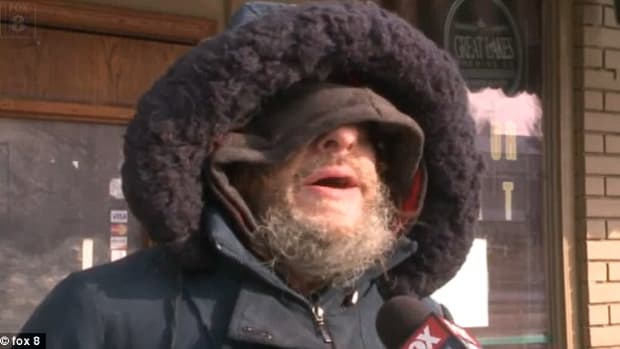 homeless man glenn kline