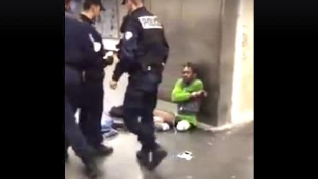 Did Cops Remove Amputee's Prosthetic Limbs? (Video) Promo Image