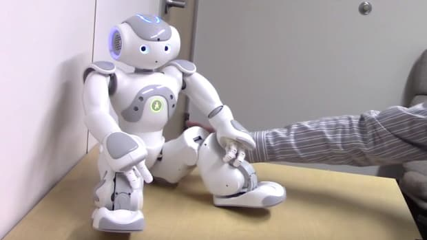 Study: Humans Turned On By Touching Robot (Video) Promo Image