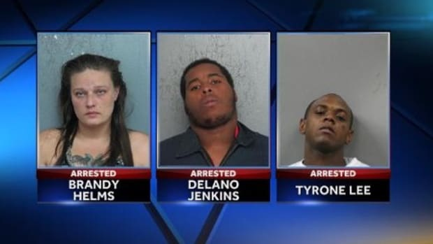 Suspects of the Houma robbery