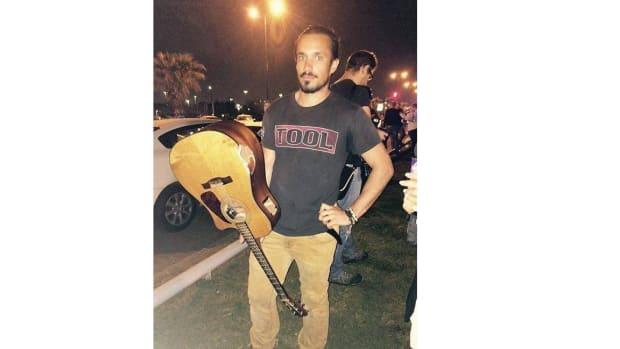 Israeli Musician Attacks Terrorist With Guitar Promo Image