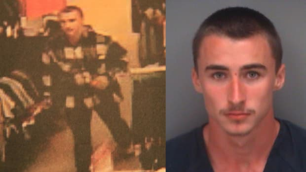Man Attacks 6-Year-Old Girl In Public Bathroom Promo Image
