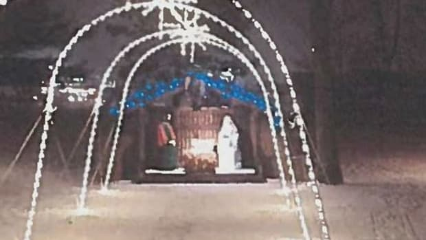 Wadena's Nativity Scene
