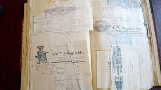 Historic Papers Found Hidden Inside Wall Of N.C. House Promo Image