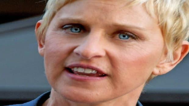 Ellen Sued Over Breast Joke (Video) Promo Image