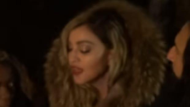 Madonna In Paris