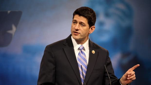 Paul Ryan: Donald Trump Doesn't Have A 'Blank Check' Promo Image