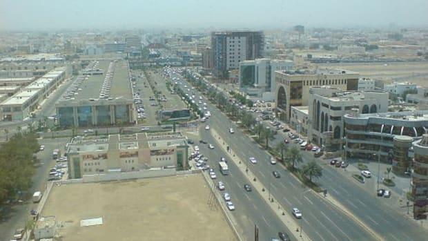 The city of Jeddah, Saudi Arabia