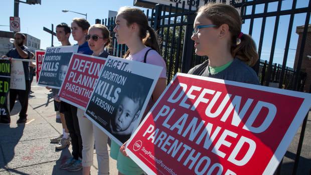 Protestors of Planned Parenthood