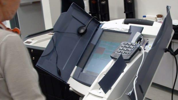 Kansas Introduces Bill To Audit Voting Machines Promo Image