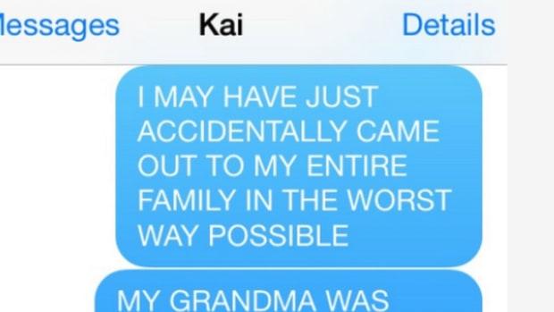 Katie's text messages