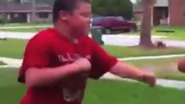 Bully Picks On Kid Half His Size, Pays The Price (Video) Promo Image
