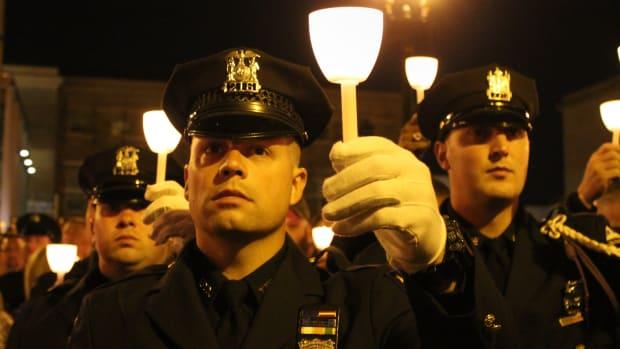 A police memorial