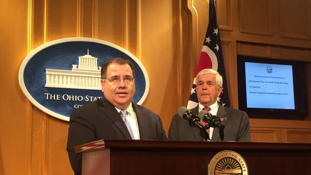 Republican Ohio Rep. Tim Schaffer of Lancaster.